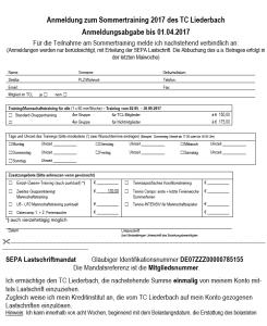 2017_Sommertraining_Anmeldung
