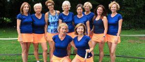 Aufstieg der Damen 50 I des TC Liederbach in die Hessenliga
