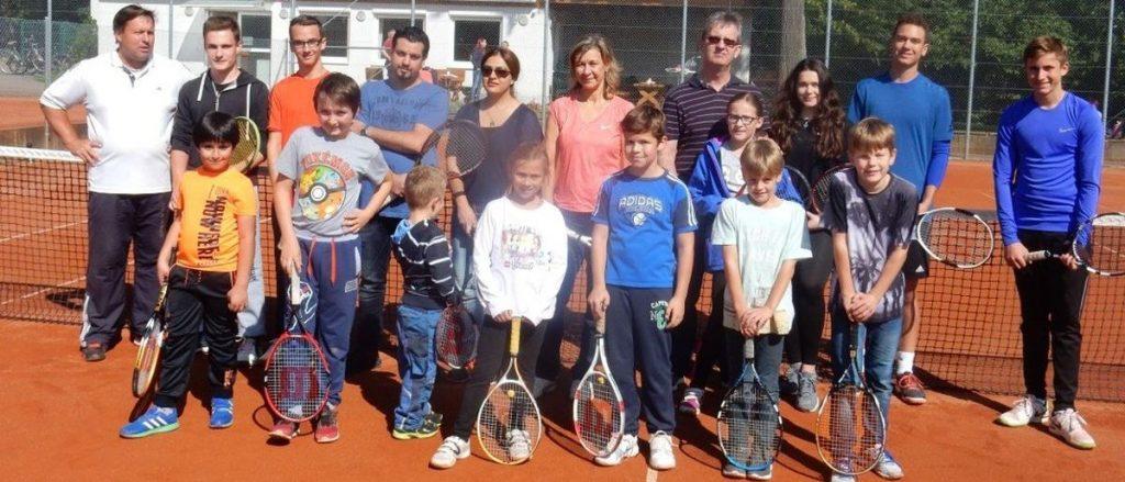 Familien Tennis Tag 2017