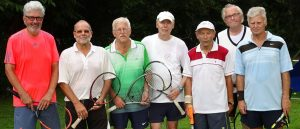Erfolgreiche Tennis-Seniorenmannschaft beim TC Liederbach