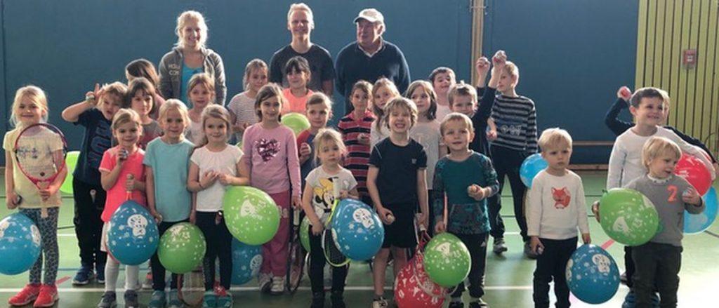 Weihnachtsolympiade des TC-Liederbach für 3 bis 9-jährige